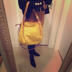 Italian leather/suede bag